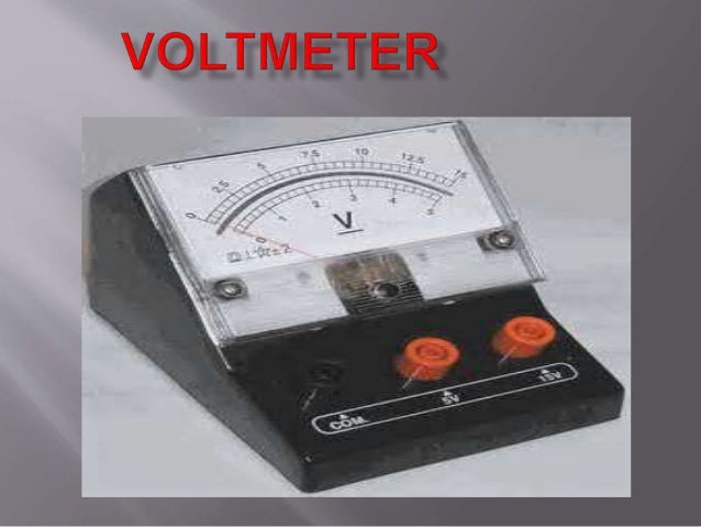 voltmetera voltmeter is an instrument used for measuring electrical potential difference between two points in an a moving