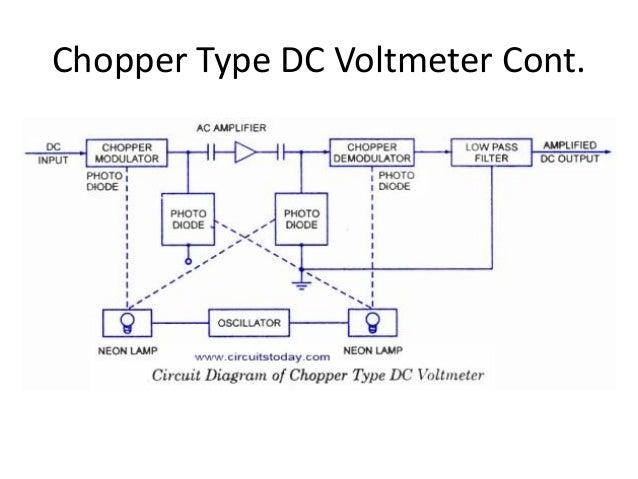 on dc voltmeter wiring diagram