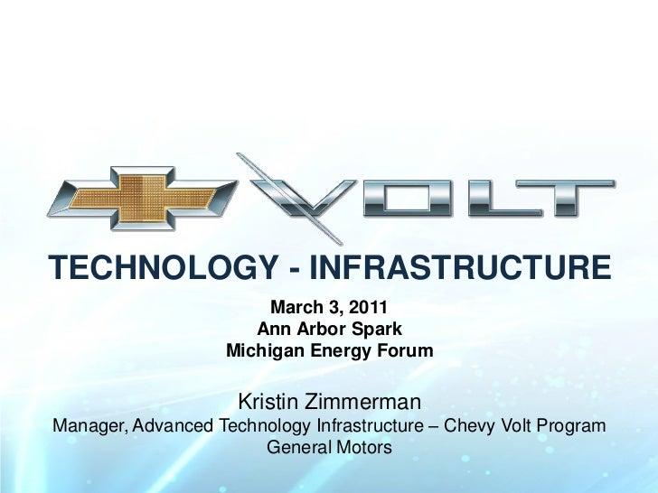 TECHNOLOGY - INFRASTRUCTURE                        March 3, 2011                      Ann Arbor Spark                   Mi...