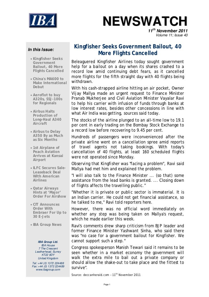 NEWSWATCH                                                                             11th November 2011                  ...