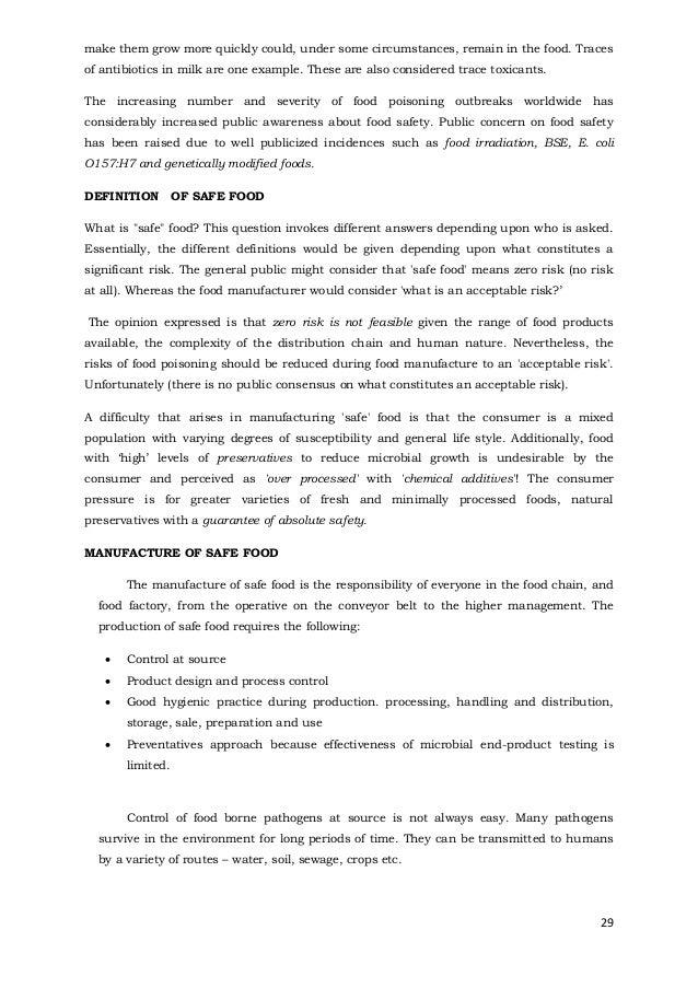 dinkars presentation on food and food processing.