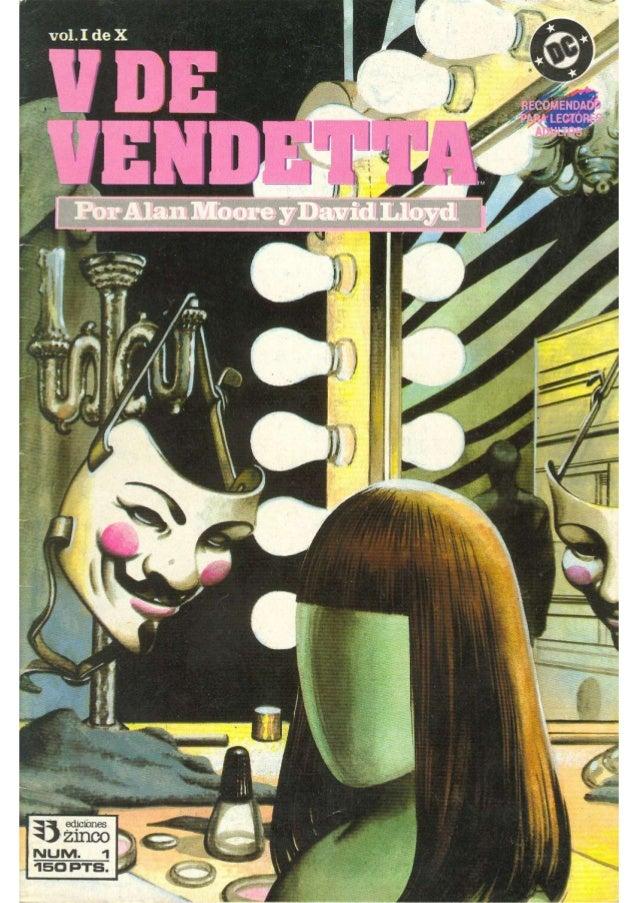 V for Vendetta Volumen 1