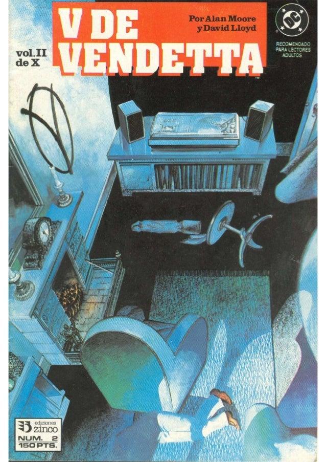V for Vendetta Volumen 2