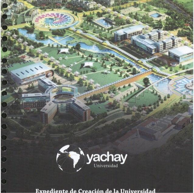Volumen2 - Proyecto de Ley de Creación de la Universidad Yachay