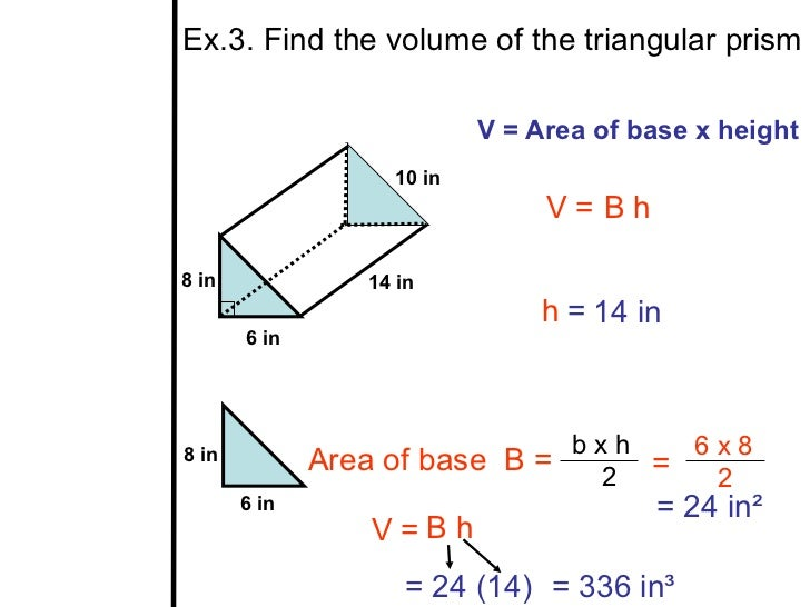 how to find the volume of a rectangular prism Surface area & volume of a prism  find the total surface area 5 a rectangular prism has a square base, and the side of the square base is 3 in.