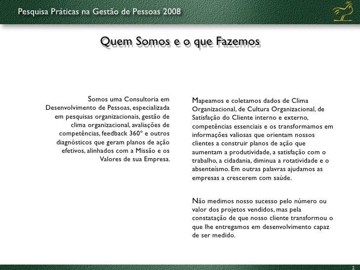 Práticas de Gestão de Pessoas 2008-9 Slide 2