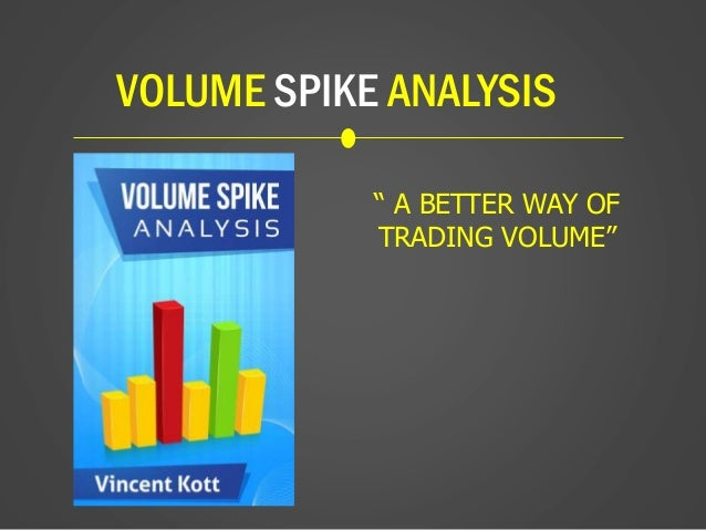 """VOLUME SPIKE ANALYSIS """" A BETTER WAY OF TRADING VOLUME"""""""