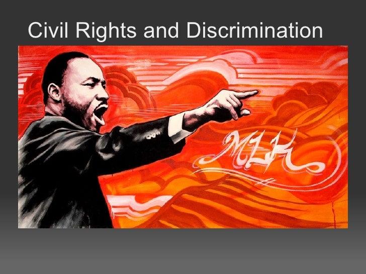 Civil Rights and Discrimination