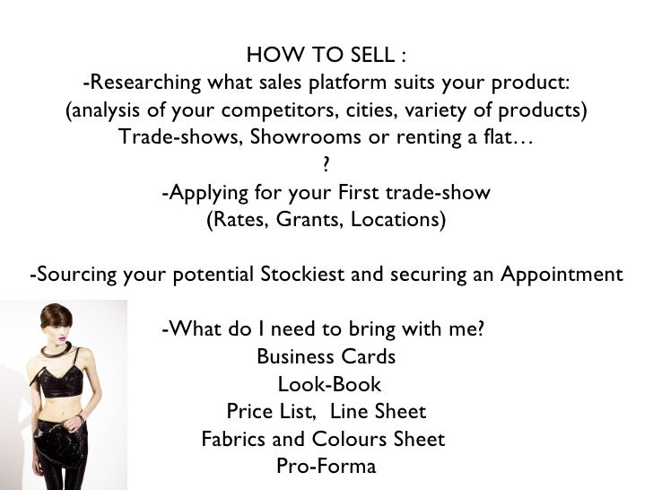 Selling to buyers as a fashion designer - Maria Francesca Pepe