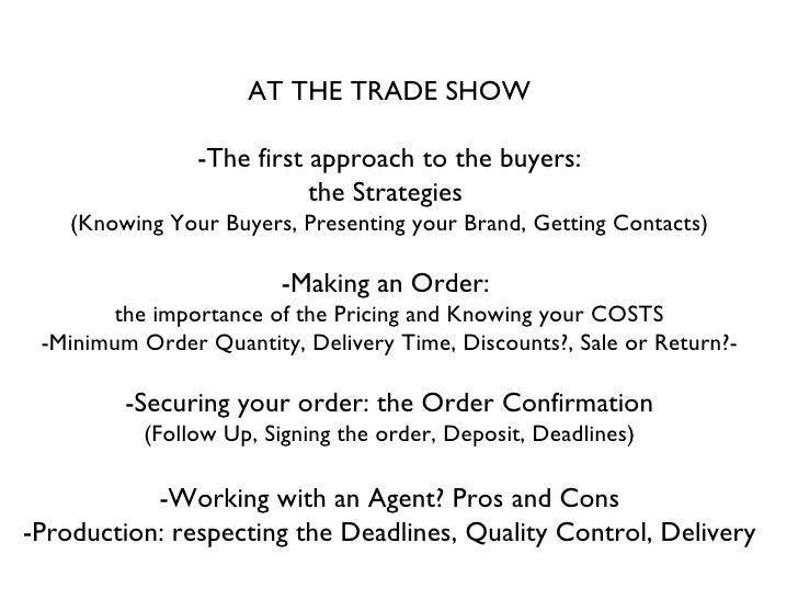 Selling To Buyers As A Fashion Designer Maria Francesca Pepe