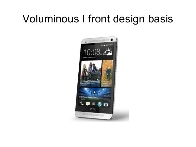 Voluminous I front design basis