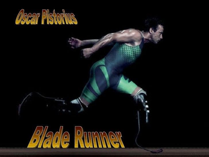 Blade Runner Oscar Pistorius