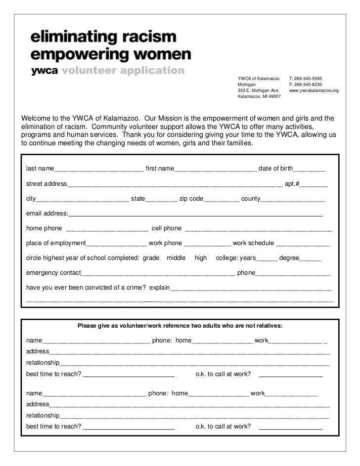 YWCA of Kalamazoo      T: 269-345-5595                                                                            Michigan...