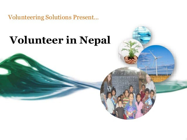 Volunteer in Nepal Volunteering Solutions Present…