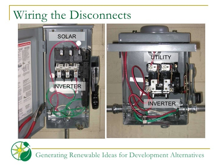 Pv ac disconnect wiring diagram brushed dc motor diagram Contactor Wiring Diagram Temporary Service Disconnect Wiring Diagram service disconnect wiring diagram on disconnect wiring diagram