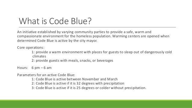 code blue volunteer training