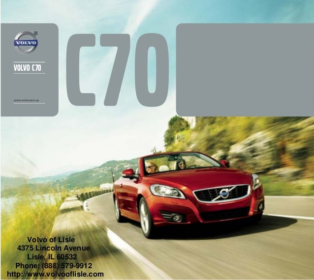 2013 volvo c70 brochure   chicago volvo dealer