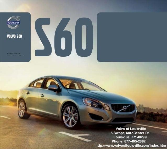 2013 Volvo S60 Brochure KY | Louisville Volvo Dealer