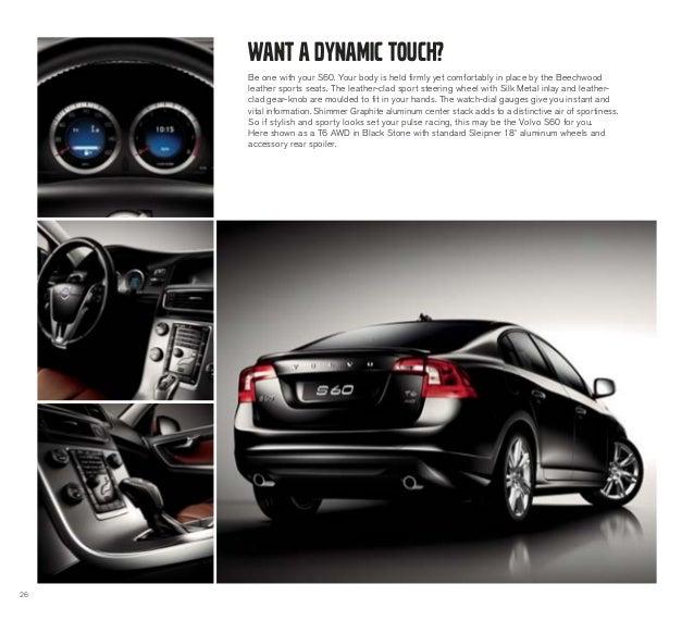 2013 Volvo S60 Brochure