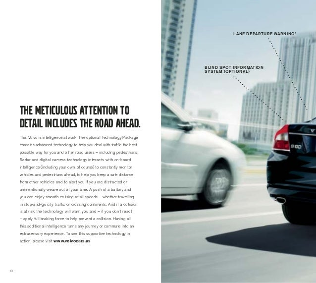 2013 Volvo S80 Brochure | Chicago Volvo Dealer