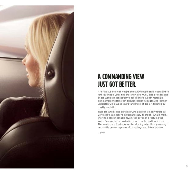 1 6 Litre Gtdi Engines From Volvo Deliver High Performance: 2013 Volvo XC60 Brochure