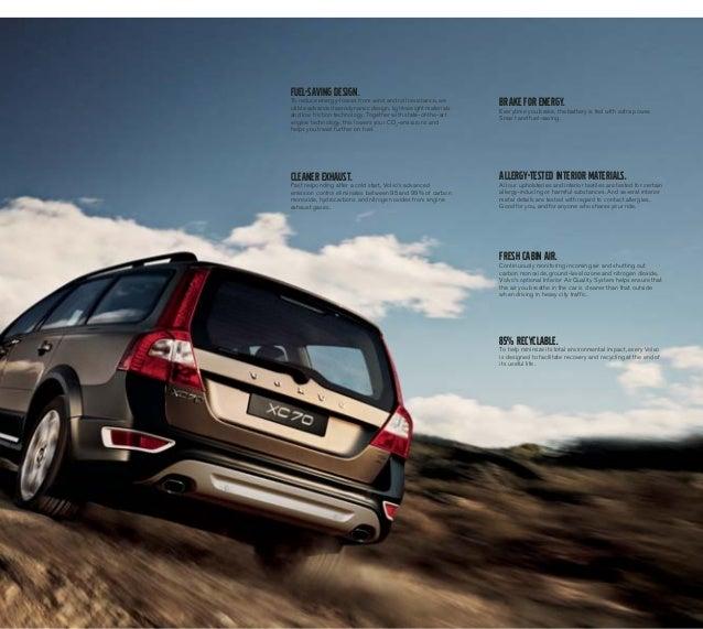 Volvo Xc70 2013: 2013 Volvo XC70 Brochure KY
