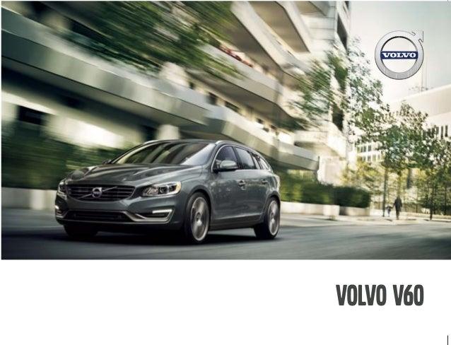 2016 Volvo V60 Brochure | OC Volvo Dealer