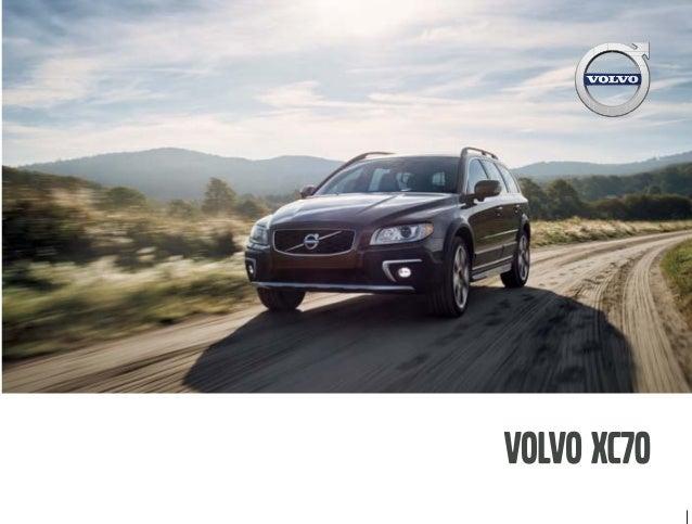 2016 Volvo XC70 Brochure | OC Volvo Dealer