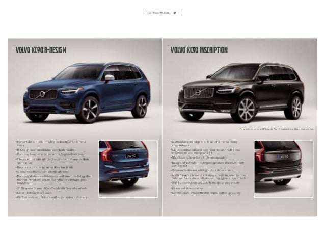 2016 volvo xc90 brochure from volvo country of edison in edison new. Black Bedroom Furniture Sets. Home Design Ideas