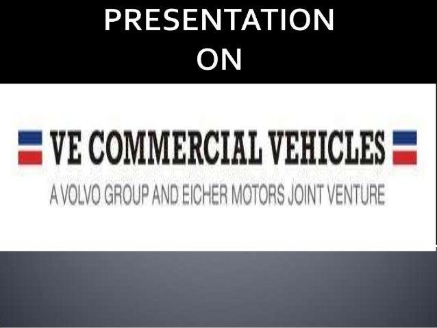 Volvo Eicher Joint Venture
