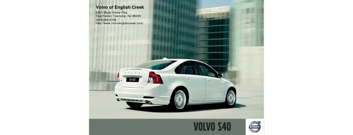 Volvo of English Creek 6021 Black Horse Pike Egg Harbor Township, NJ 08234 (609)383-6100 http://www.volvoenglishcreek.com/