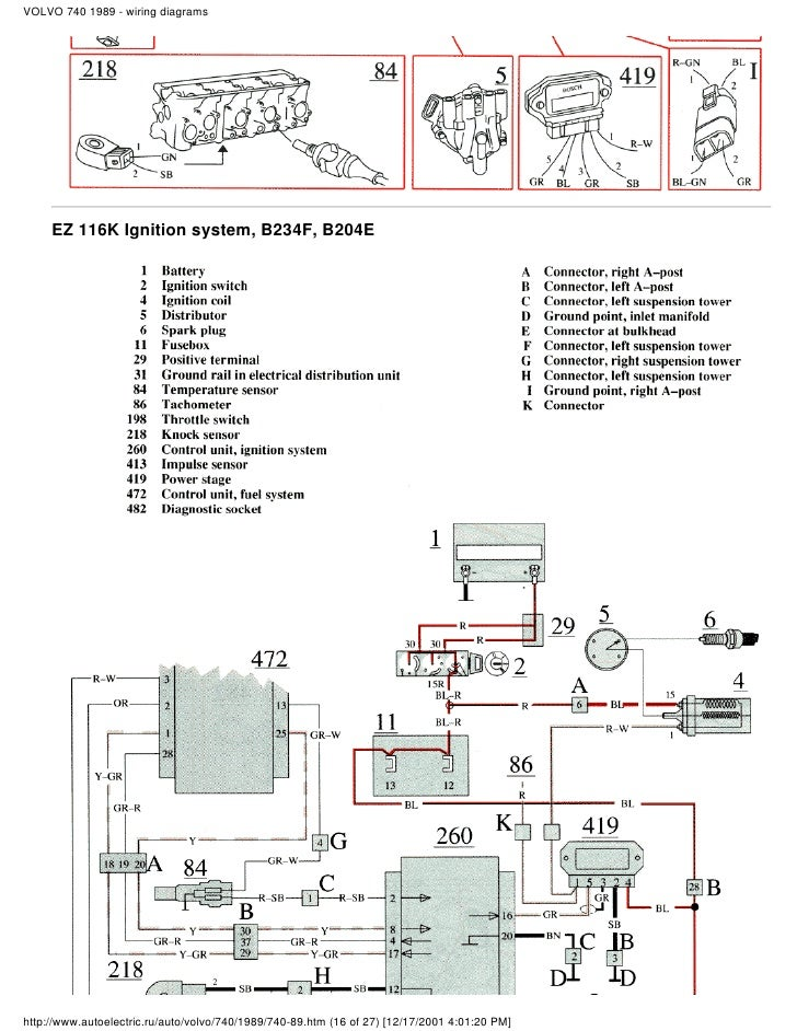 Wiring Diagram For 2000 Volvo S80 : Xc serpentine belt diagrams cylinder head diagram