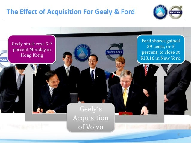 Volvo and Geely