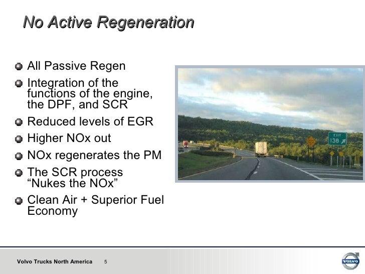 Volvo Eliminates Active Regeneration