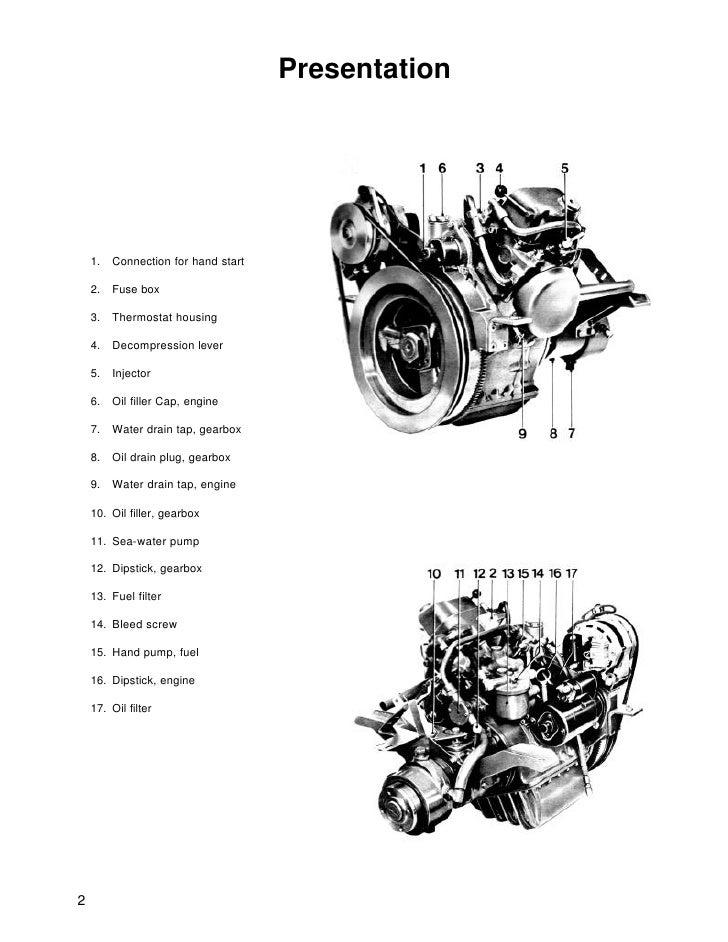 volvo penta md5a diesel marine engine workshop manual rh slideshare net Volvo Penta Outdrives Volvo Penta Outdrives