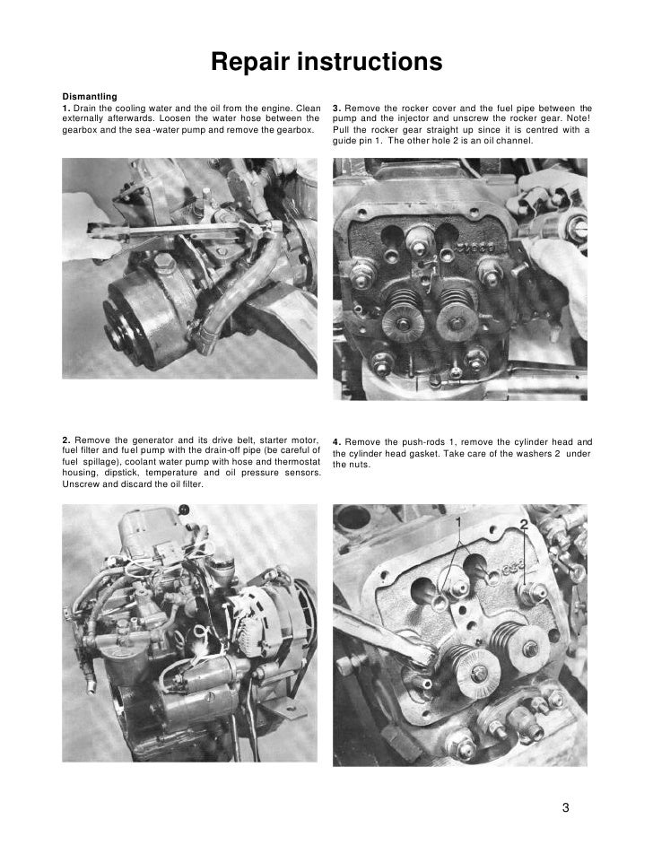 volvo penta md5a diesel marine engine workshop manual rh slideshare net volvo penta md21a manual volvo penta md21 service manual