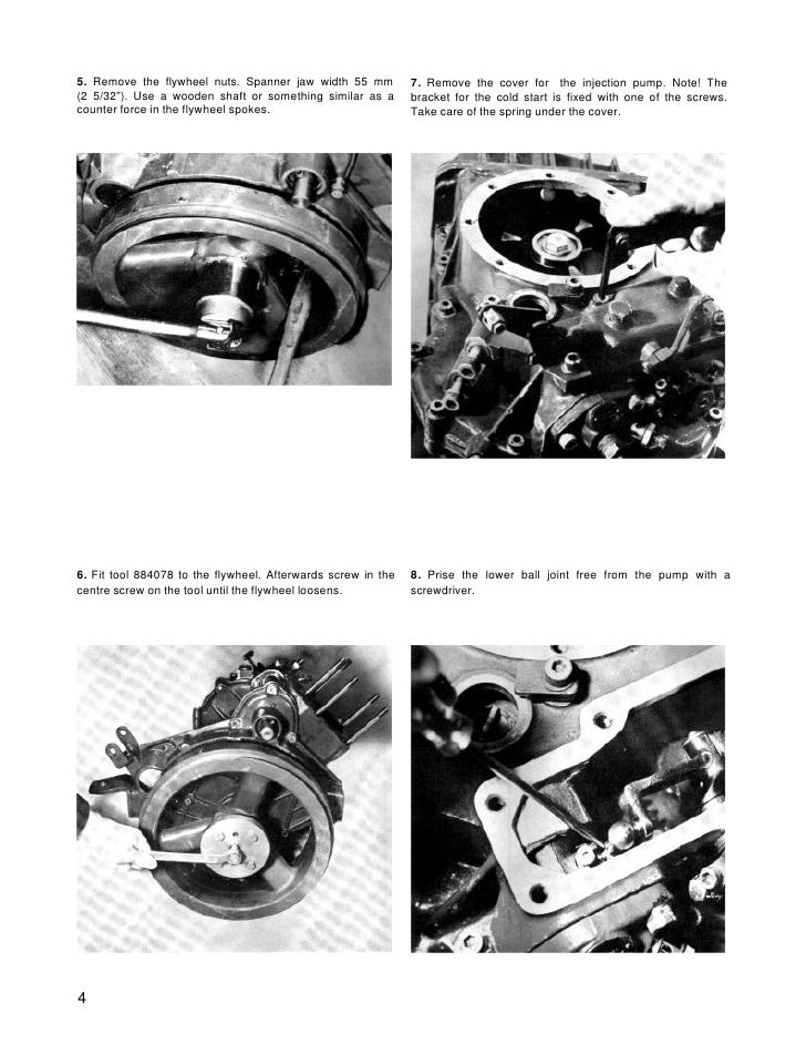 volvo penta md5a diesel marine engine workshop manual rh slideshare net Volvo Penta Parts volvo penta md21a manual