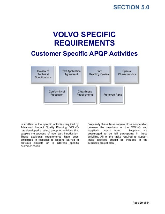 Volvo supplier quality assurance manualfdf appearance 20 pronofoot35fo Images