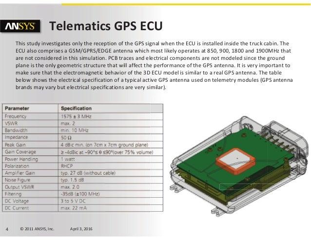 Volvo Trucks GPS Antenna Placement