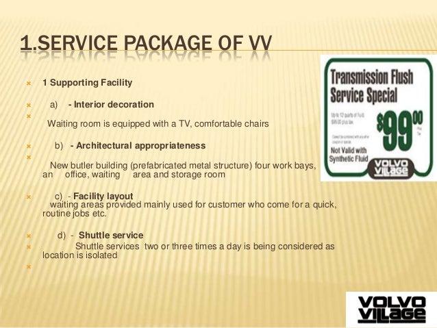 village volvo case study pdf
