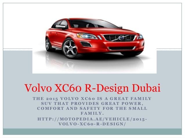 Volvo Xc60 R Design Dubai