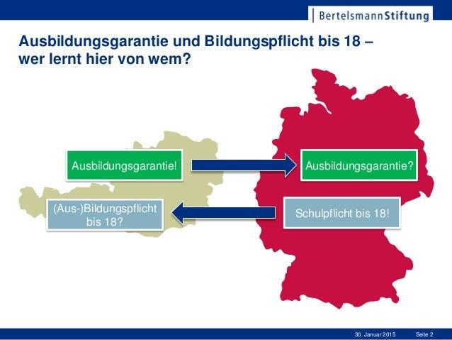 Vom Abschluss zum Anschluss - Erfahrungen aus Deutschland zum Übergang von der Schule in die Arbeitswelt Slide 2
