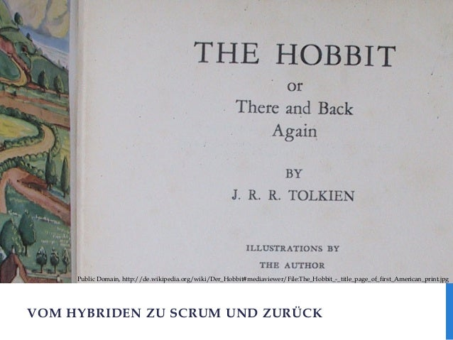 Public Domain, http://de.wikipedia.org/wiki/Der_Hobbit#mediaviewer/File:The_Hobbit_-_title_page_of_first_American_print.jp...