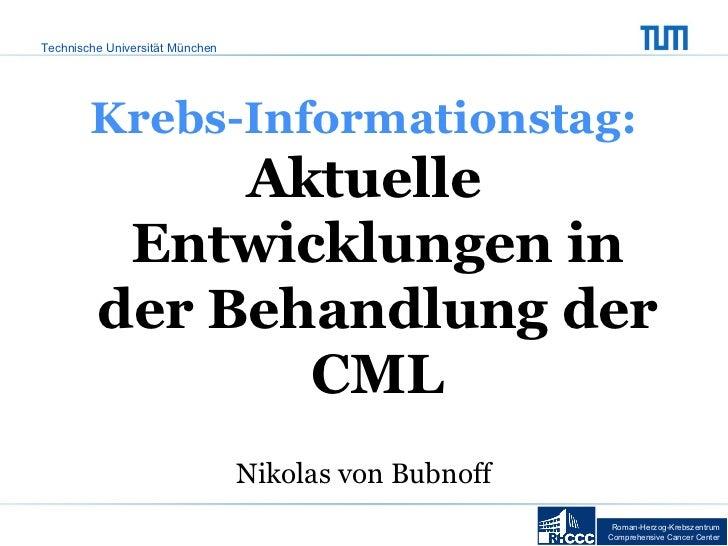 Roman-Herzog-Krebszentrum Comprehensive Cancer  Center Krebs-Informationstag: Aktuelle Entwicklungen in der Behandlung der...