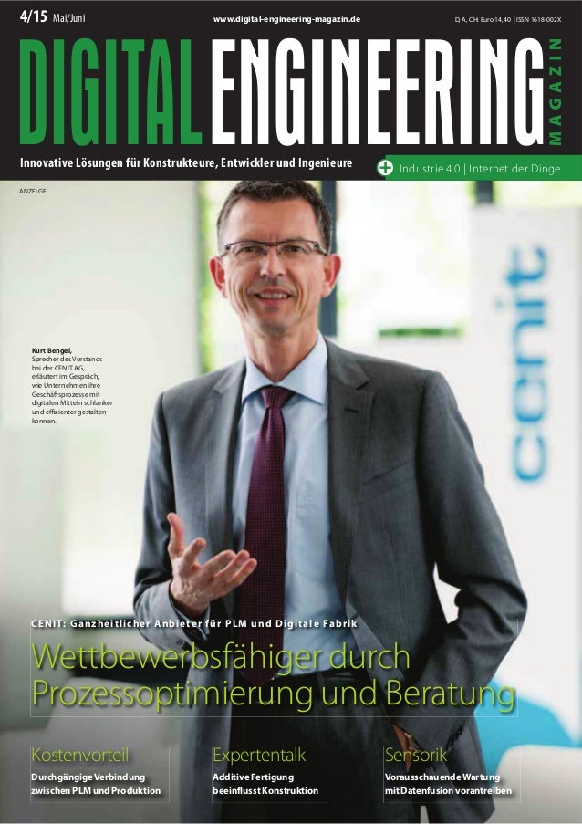 4/15 Mai/Juni D, A, CH: Euro 14,40 | ISSN 1618-002Xwww.digital-engineering-magazin.de Innovative Lösungen für Konstrukteur...