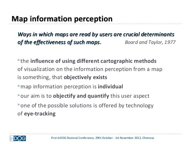 how maps influence our perception of How maps influence our perception of the world maps have a great influence on our individual perception of the world some people maintain this point of view while others argue with it.