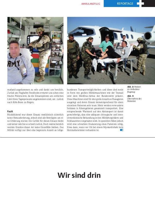 Ambulanzflug                          reportage                                                                           ...