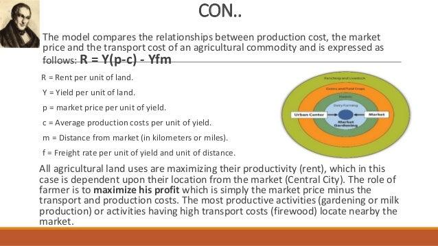 Von Thunen Model Of Agricultural Land Use Pdf Download