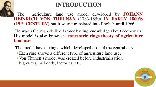 Von Thunen Model Of Agricultural Land Use Pdf Download