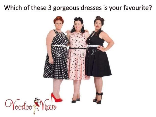 Get Fashionable Vintage Dresses Online For Plus Size Women